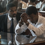 Michael B Jordan as Bryan Stevenson and Jamie Foxx as Walter McMillian in Just Mercy