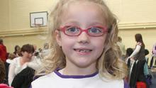 A BLAST FROM THE PAST - Young Emma Dempsey who took part at the Irish Dancing Feis in the Astro Turf Complex, Enniscorthy in 2009, dancing for the O'Brien School of Dancing.