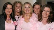 BLAST FROM THE PAST - Mai Murphy, Lesley Cullen, Lorraine Hope, Yvonne Dixon and Bernie Whiteacre enjoying the the Ladies Pink Night in aid of Breast Cancer in the Blackwater Lodge Hotel in 2005