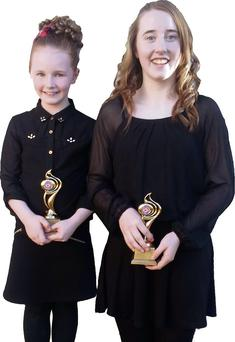 Dancers Caoimhe and Courtney Browne, winners at the Wex Factor in Gorey