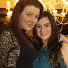 Samantha Murphy and Lorraine Molloy enjoying their Christmas party at the Ashdown Park Hotel