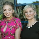 Tessie O'Rourke, Aisling O'Rourke and Diane Rigley at the Strawberry Festival Ball in the Riverside Park Hotel, Enniscorthy
