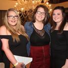 Nicola McCarthy, Laura Murphy, Catherine Nolan and Rachel Bergin enjoying their night out at Clonee GAA Club's Strictly Club Dancing night in the Ashdown Park Hotel