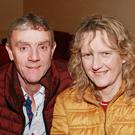 Willie and Deirdre Kelly at the production of 'God has no Country' in St Brigid's Hall, Carnew