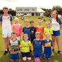 Wexford GAA Kellogg's Cul Camp at, Carnew Emmets GAA grounds, pictured with their coaches, Conor Connolly and Aine O'Shea