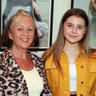 Louise Forde, Romy Nolan and Veronica Lombard at the launch of the photography exhibition by Heather Cody in Gorey library