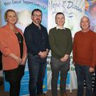 Liz Cullen, manager Enniscorthy Credit Union; Gary Morris, chairman, Wexford Hospice Homecare; Darragh Clifford, Deputy Group Editor, People Newspapers; Michael Jordan, race director; John Roche, chairman Hope Cancer Support Centre and Denise McDonald, Hope Centre