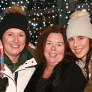 Frances Hammel, Carmel Cassidy and Nicole Hammel at the switching on of the Christmas lights in Kilmuckridge