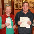 Peggy Gray with Pat and Margaret Curran enjoying the Monster bingo night in Enniscorthy Vocational College