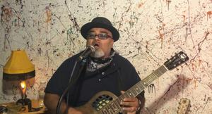 Austin Walkin' Cane is one of the artists appearing at this year's Blackstairs Blues Festival