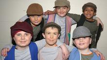 The 'village children' in the pantomime 'Robin Hood' by Ferns Dramatic Society