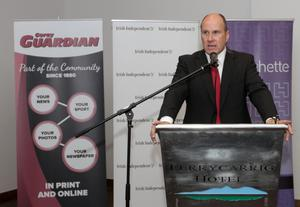 "Launch of Ivan Yates Book ""Full On"" in Ferrycarrig Hotel on Monday night . Ivan Yates"