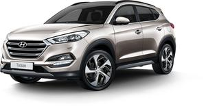 Hyundai, whose popular Tucson is pictured here, was the top selling marque in County Wexford last year