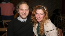 Jack Gassmann and Alessia Pagani at the event