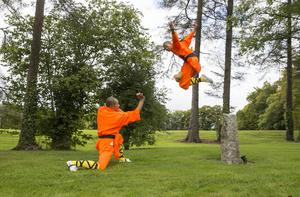 Authentic Shaolin Masters Master Zheng and Master Jinlei Wang arrived to Ireland from the Henan Province in China for a three month residency at Monart Destination Spa in Wexford where they will showcase of Shaolin Culture