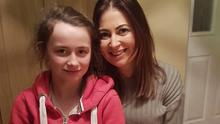 Paula Morris, from Marshalstown, who celebrated her birthday on March 23, pictured with her niece Lucy