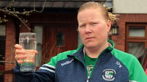 Tamsin O'Neill from Gorey, who is facing into another summer of frequent water outages
