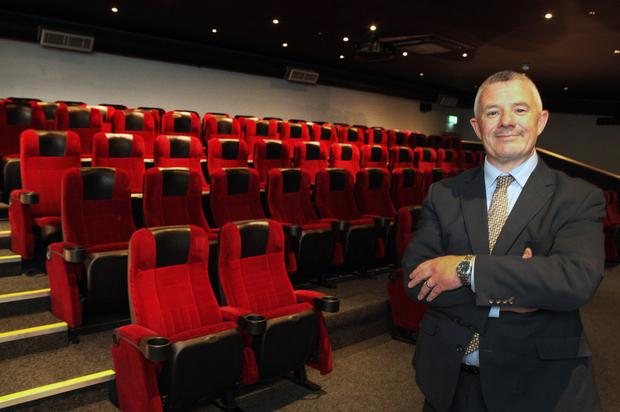 General Manager of The Amber Springs Hotel Eibhear Coyle in the new 80-seater 'Showtime' cinema