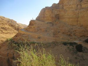 On the trek to St Georges Monastery