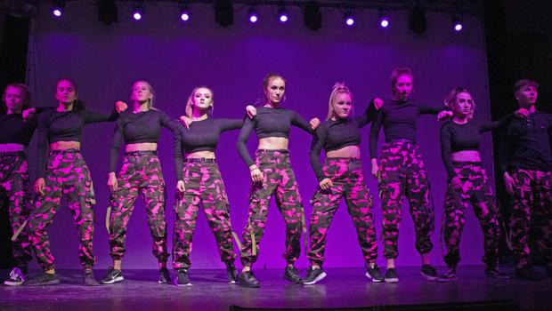 Synergy dance group from Gorey