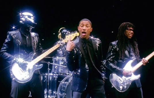 Daft Punk's 'Get Lucky' is the biggest selling dance single so far this year.