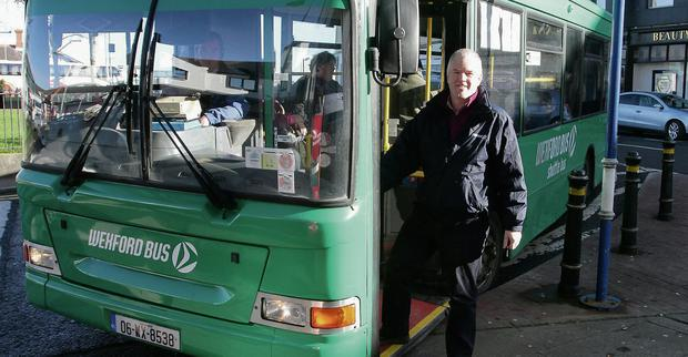 Brendan Crowley, Wexford Bus. Picture: Ger Hore