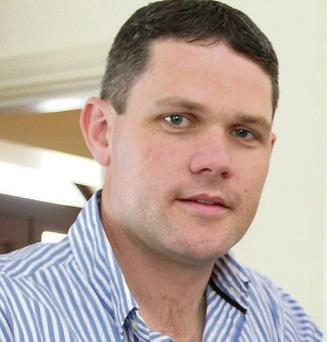 Independent local election candidate Ger Carthy