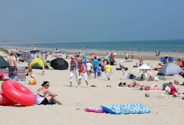 Curracloe Beach, which is one of five EU bathing waters in Wexford with an 'Excellent' classification