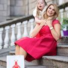 Yvonne Connolly and Hazel Buchanan at the Buy My Dress launch