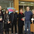 John Gibney, Hazel Percival, Lorcan Collins, Mary Gallagher, Conor Kostick, and Helen Litton at 'Irish Lives, 16 Lives. The History of 1916' event
