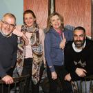 Pat Burke Walsh, Rionagh Ryan, Jan Cullen, and George Percival, the cast of 'The Birds'