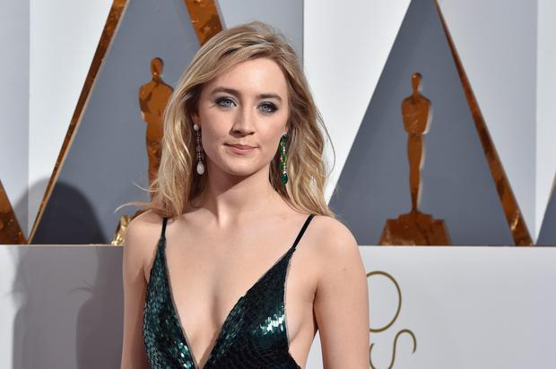 Saoirse Ronan at the Oscars on Sunday