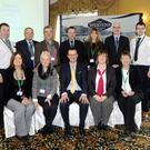 At the Wexford Food Summit in the Riverbank House Hotel (from left) back - Joe O'Reilly, Des Murphy, Joseph Wallace, Alan Murphy, Sharon Wall, Pat Sinnott, and Danny O'Reilly; front - Paula White, Chrisie Wallace, Neil Murphy, Paula Ronan, and Siobhan O'Keeffe.