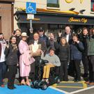 The new pilot scheme to report those who park illegally in certain disabled parking bays in Gorey was launched in Gorey last week