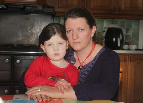 Niav McEvoy with her daughter, Heather