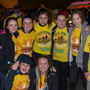 Some of the participants at this year's Darkness into Light walk in Courtown