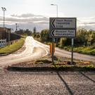 The road to Taghmon from Larkin's Cross