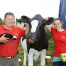 Padraig O'Donohoe and Gail Molloy from Kia Ora mini farm at the Gorey Agricultural Show in 2014. This year's show takes place on Saturday, June 18