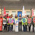 Four one-day strikes are planned at St Aidan's Services, Gorey, as negotiations continue at the Workplace Relations Commission
