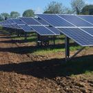 Ireland's first large-scale ground based solar electricity generation park which opened in Co Antrim recently