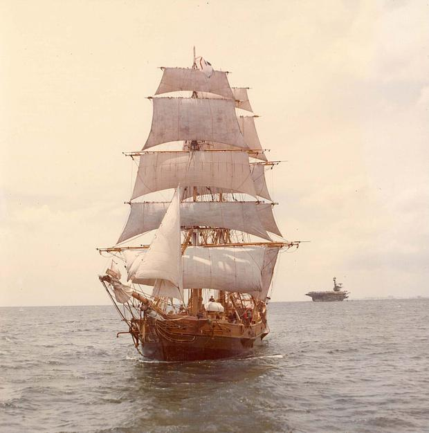 The brig was similar to this ship