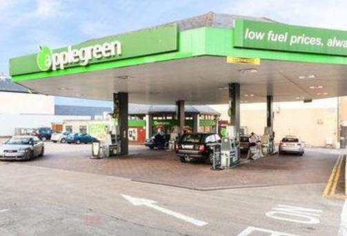 The Applegreen Service Station in Ferns
