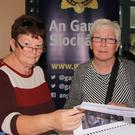 Catherine Redmond and Catherine Fortune attending the National Recovered Property day at Enniscorthy Garda Station