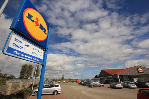 The Lidl store in Enniscorthy