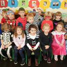 The youngsters at Patricia's Pre-School, Tara Hill, recently raised €1,700 through Trick or Treat for Temple Street Children's Hospital