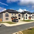 The new low-energy houses at Ard Uisce, Wexford town