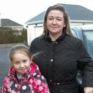 Christine Ryan and her daughter Jade both had a lucky escape when deer struck their car on the Rosslare Road outside Wexford
