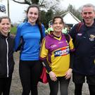 Eilish Ryan, Ellen O'Donohoe, Miriam O'Donohoe and Peter O'Donohoe from Ballymoney.