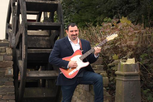 Paul Molloy, who will perform his new single 'Heartbroke' in The Ashdown Park Hotel on Saturday, April 15