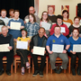 SOCGA presentation of Special Olympics Ireland athlete code of ethics and good practice course certificates in the Loch Gorman Arms